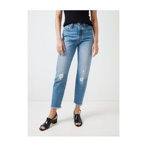 Levi's Wedgie jeans in Truth Unfolds
